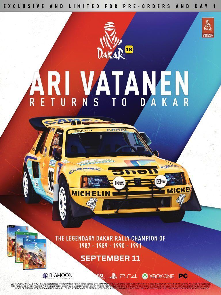 Ari Vatanen DLC