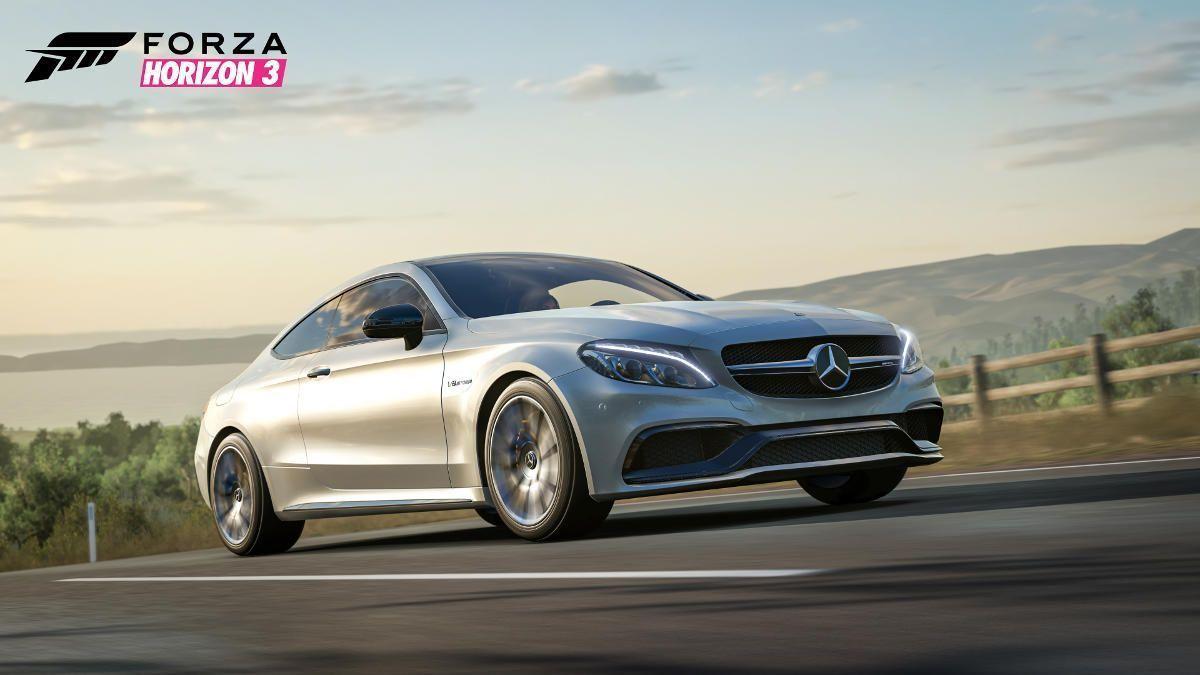 Mercedes C63AMGCoupe WM ForzaHorizon3 PreOrder