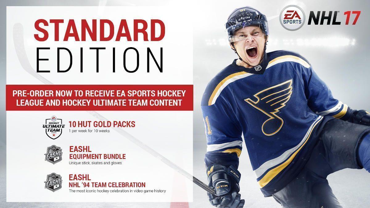 NHL 17 Ennakotilausetu