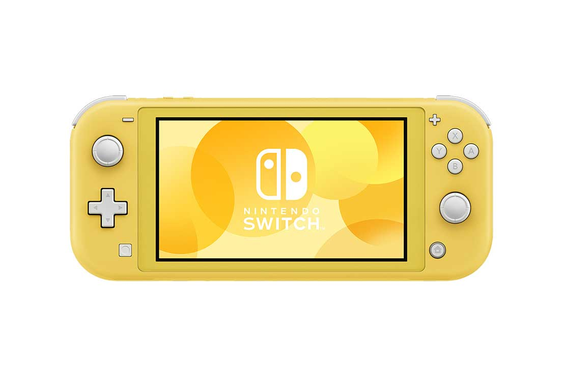Nintendo Switch Lite Pelikonsoli Keltainen 1