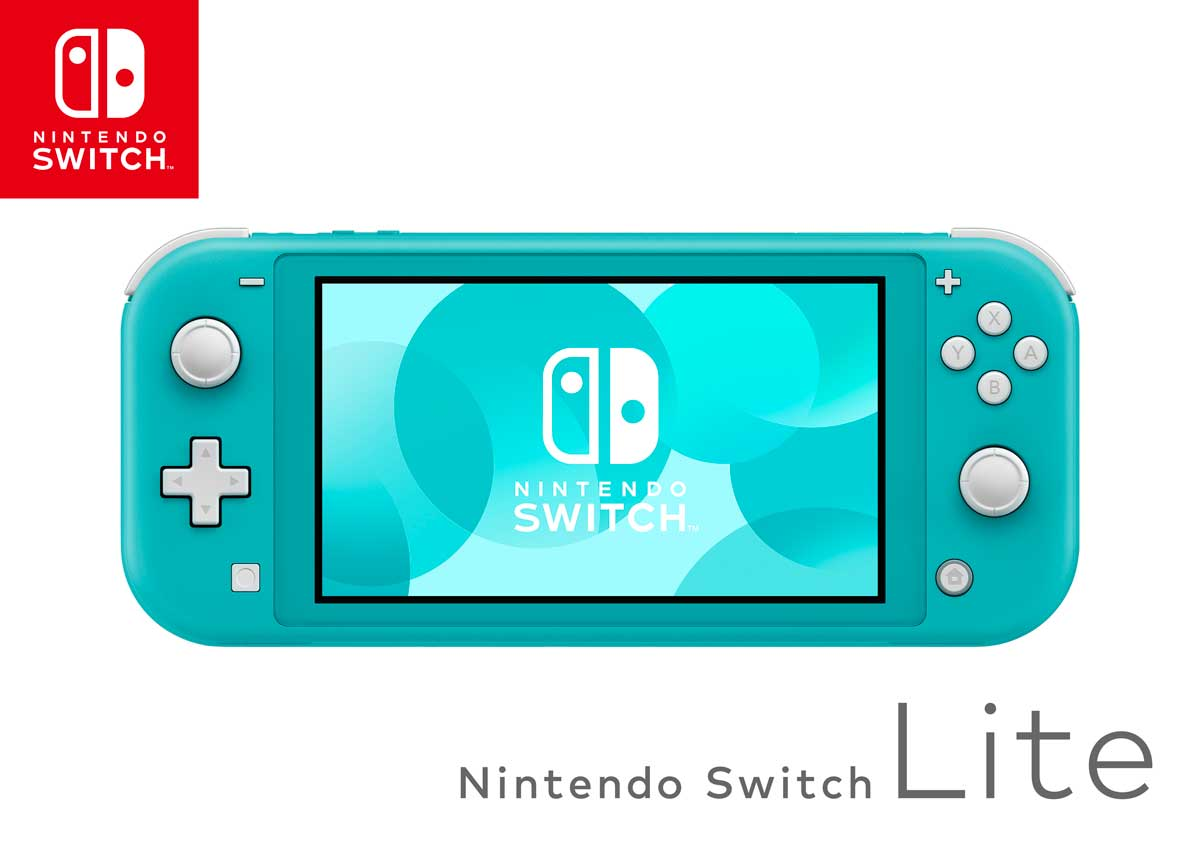 Nintendo Switch Lite Pelikonsoli Turkoosi 2