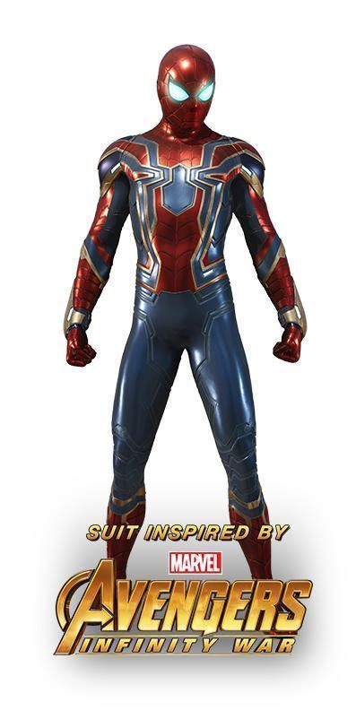 Spider-Man PS4 IRON SUIT 001