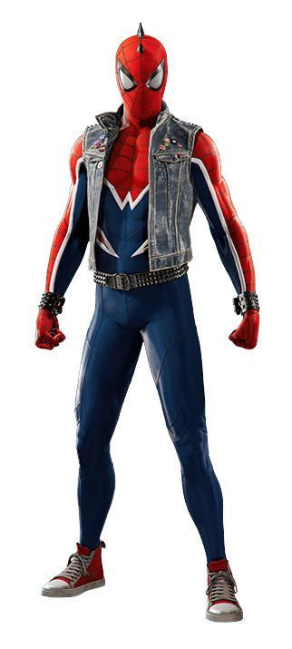 Spider-Man PS4 PUNK SUIT 001
