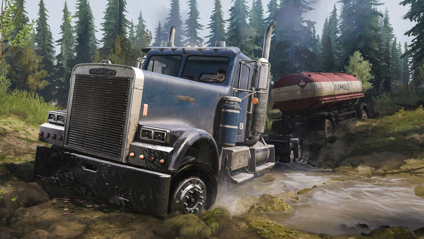 Spintires MudRunner American Wilds Edition Kuva 1