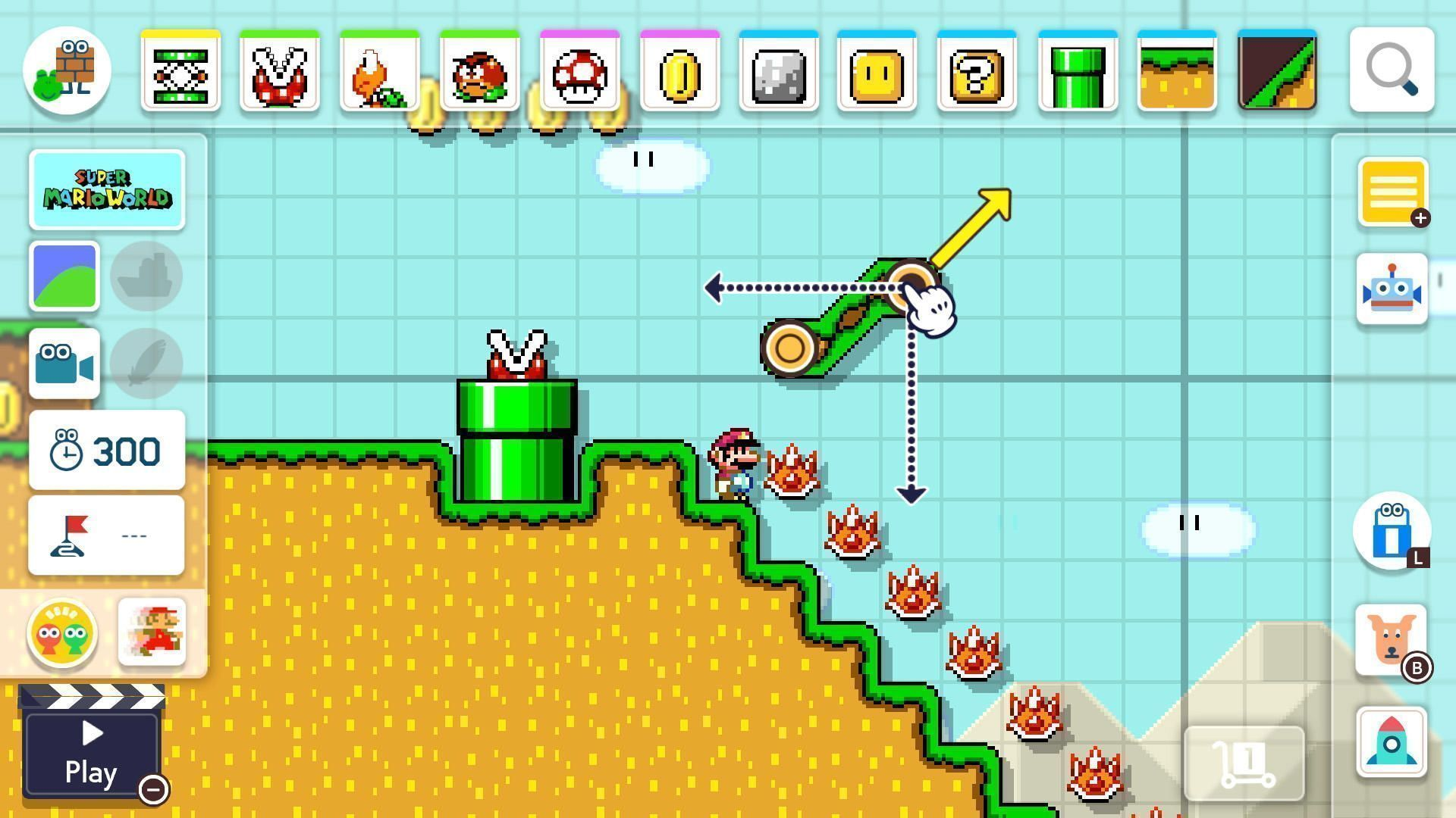 Super Mario Maker 2 Switch Kuva 3