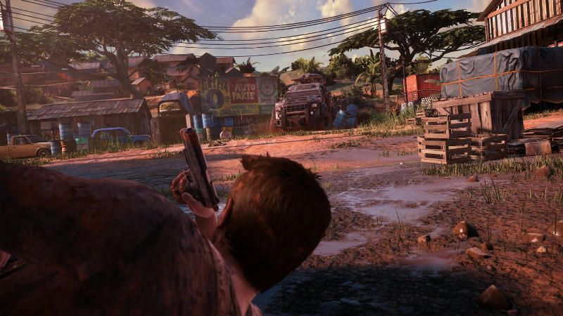 Uncharted 4 A Thieves End PS4 Kuva 1